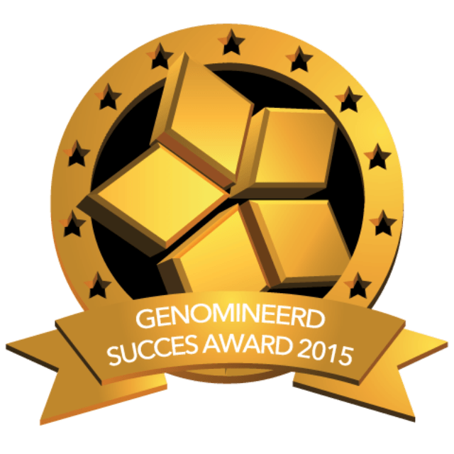 Gilde Software is genomineerd voor de Succes Award 2015